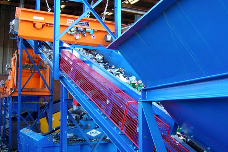 Conveyor Design, Manufacturing and Installation for the Recycling Industry Sectors