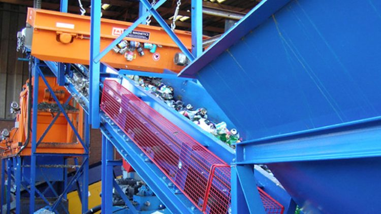 Full Glass – Steel Can and Aluminium Can recycling system