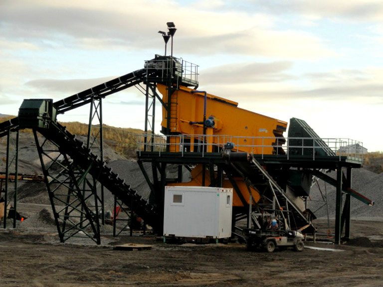 Sand and Gravel Plant, Reykjavik, c/w 2 Binder Screens
