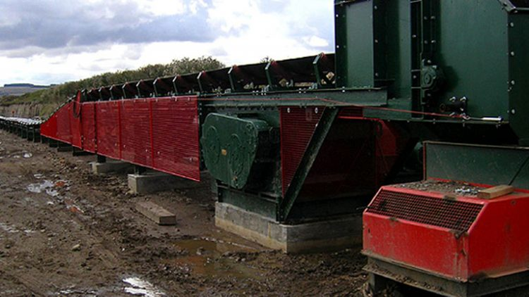 Hanson Aggregates Ground Conveyor