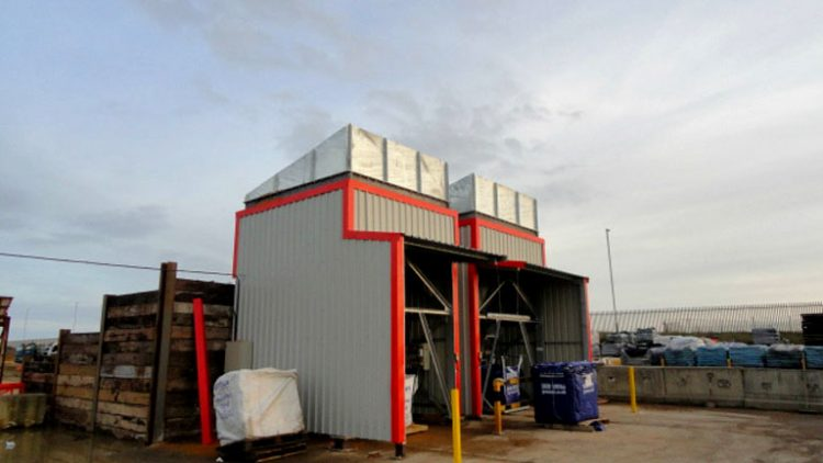 2 off Hopper Feeders c/w Vibtec electromagnetic vibrating feeders