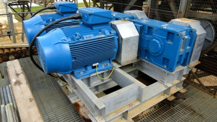 New Tandem Drive Unit to existing Ship to Shore Conveyor