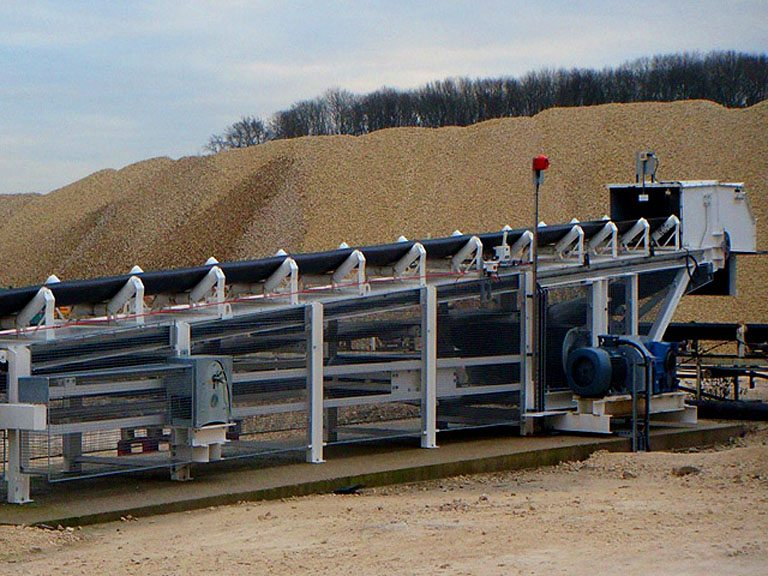 Ground Conveyor System / Installed at Holme Hall Quarry