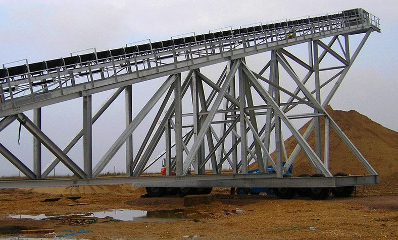 Mining and Quarrying Record Breaking Stockpile Conveyor for Brett Aggregates