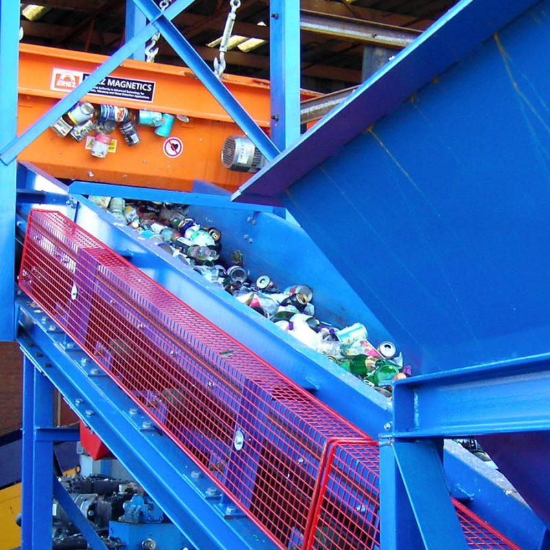 Design, Manufacture and Installation of Conveyors for the Recycling Sector