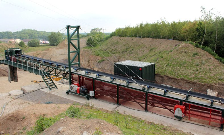 Design, build, delivery and installation of a 200TPH limestone overland ground conveyor system - Case Studies