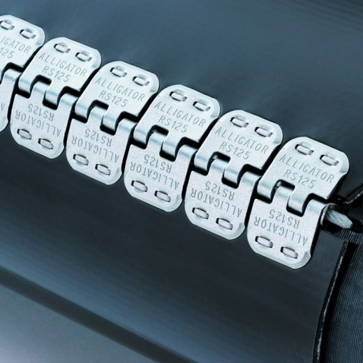 Alligator Staple Fasteners with Strong and impact-resistant splice