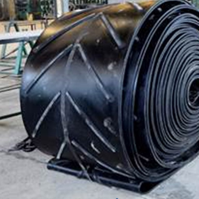 Atherton Chevron Conveyor Belt – designed for steep inclined conveying