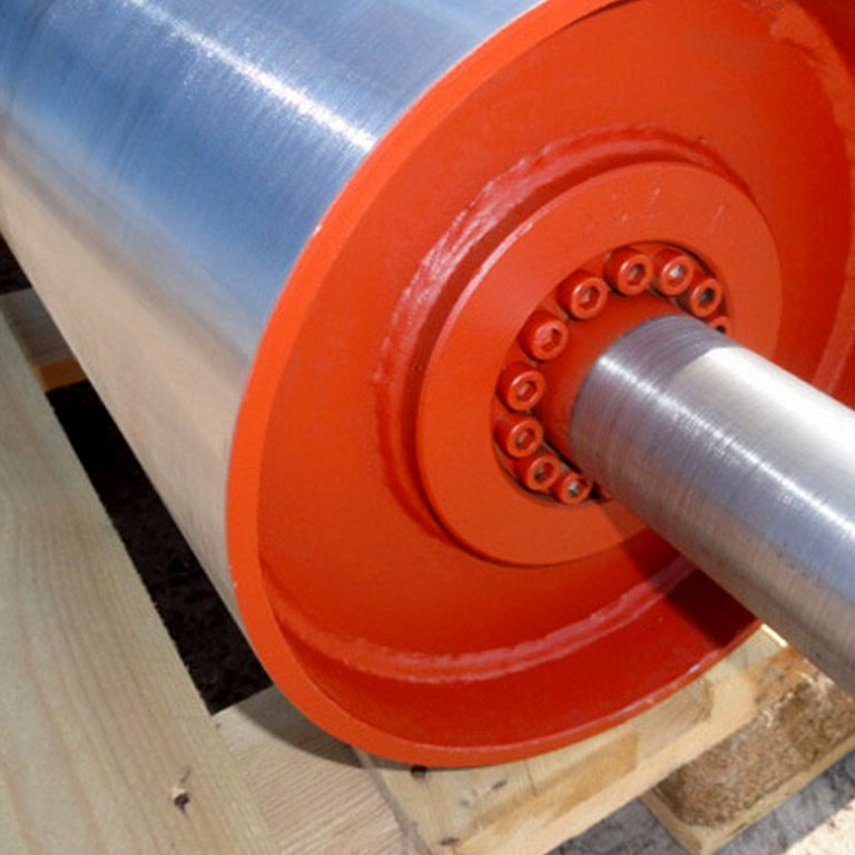 Atherton Material Handling provide the conveyor drive drum to customer orders