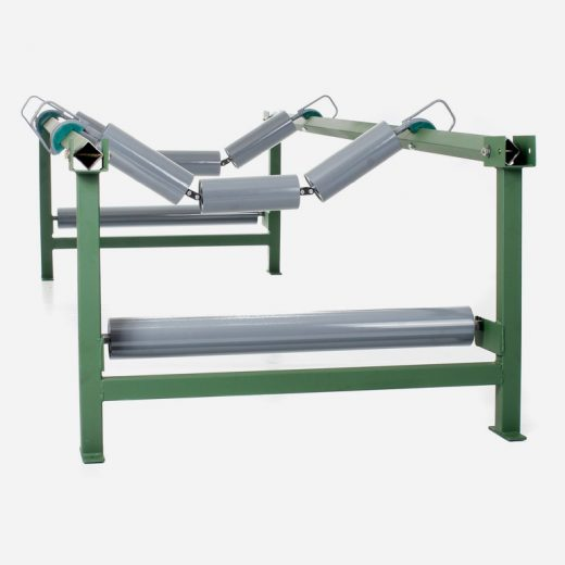 Field Return Roller and Suspended Idler Sets are used mainly within field conveyor systems