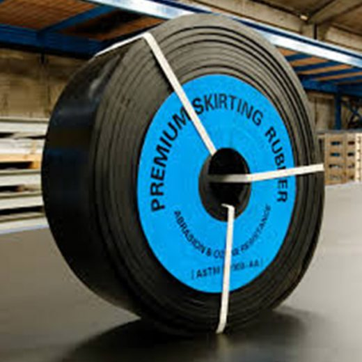 Skirt Rubber - designed to greatly reduce the risk of conveyor belt damage and failure caused by grooves being worn into the belt